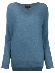 Theory long sleeve jumper - Blue
