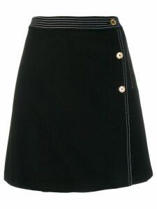 Tory Burch A-line short skirt - Black