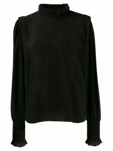 Isabel Marant Étoile high neck blouse - Black