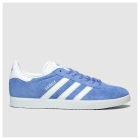 Adidas Blue Gazelle Suede Trainers