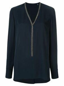 Elie Tahari Emara embellished blouse - Green