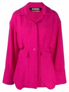 Jacquemus Monceau shirt - Pink