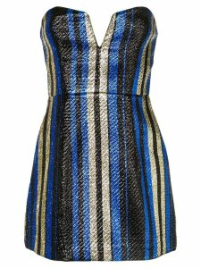 Alice Mccall One World striped dress - Blue