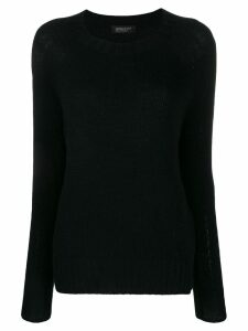 Aragona relaxed jumper - Black