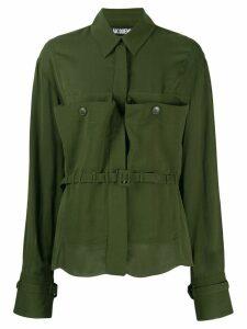 Jacquemus Enna shirt - Green