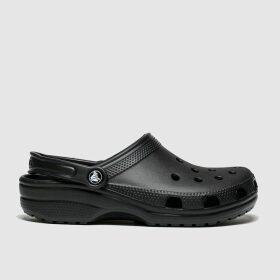 Crocs Black Classic Clog Sandals
