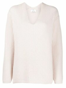 Allude long sleeve knitted jumper - PINK