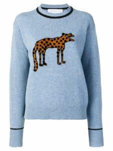 Victoria Victoria Beckham knitted sweatshirt - Blue