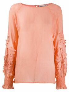 Essentiel Antwerp lightweight floral blouse - Orange