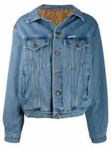 Forte Dei Marmi Couture lined denim jacket - Blue