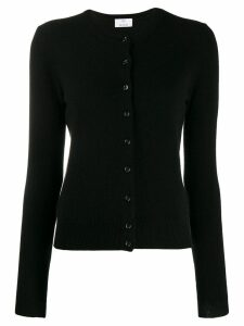 Allude button-up cardigan - Black