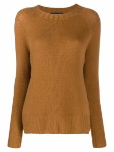 Aragona relaxed jumper - Brown
