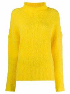 Tela turtleneck jumper - Yellow