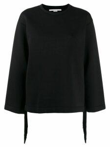 Stella McCartney fringe detail sweatshirt - Black