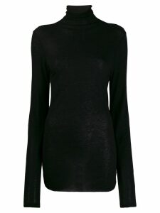Ann Demeulemeester turtleneck slim-fit jumper - Black