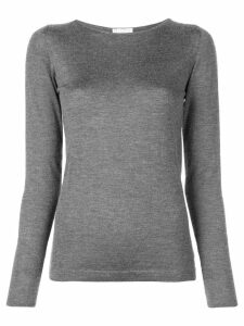 Brunello Cucinelli fitted jumper - Grey