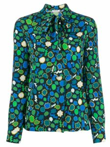 P.A.R.O.S.H. graphic print blouse - Green