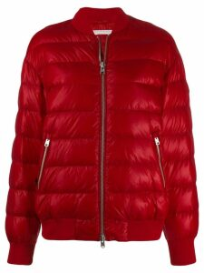 Woolrich quilted bomber jacket - Red