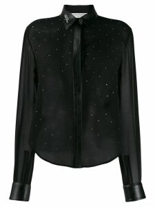 Philosophy Di Lorenzo Serafini embellished long sleeve blouse - Black