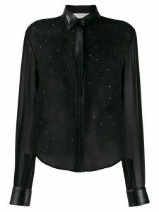 Philosophy Di Lorenzo Serafini embellished long sleeve blouse - Black