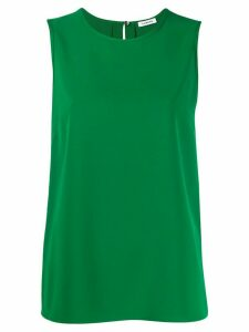 P.A.R.O.S.H. back slit blouse - Green