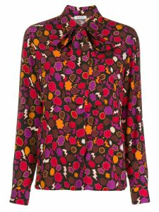 P.A.R.O.S.H. graphic print blouse - Red