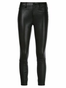 L'Agence cropped trousers - Black