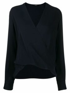 Joseph V-neck long sleeves blouse - Blue