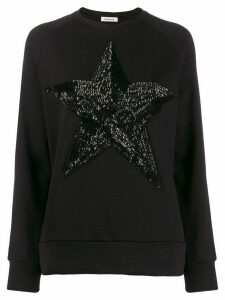 P.A.R.O.S.H. sequin star jumper - Black