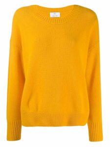 Allude lightweight sweatshirt - Yellow