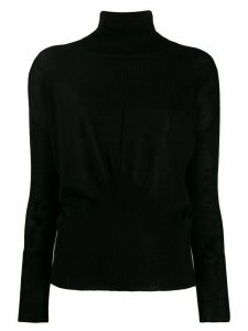 Lorena Antoniazzi roll neck sweater - Black