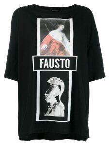 Fausto Puglisi Madonna print T-shirt - Black