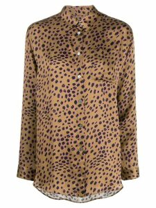 PS Paul Smith leopard print shirt - Brown