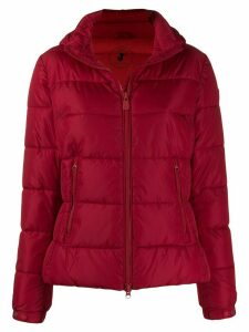 Save The Duck hooded padded jacket - Red