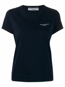 Katharine Hamnett London classic logo T-shirt - Blue