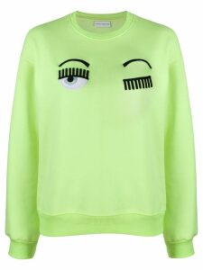 Chiara Ferragni Flirting sweatshirt - Yellow