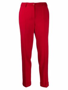 P.A.R.O.S.H. straight leg trousers - Red