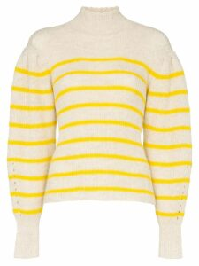 Isabel Marant Étoile Georgia striped knit jumper - Yellow