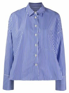 Odeeh casual pinstripe shirt - Blue