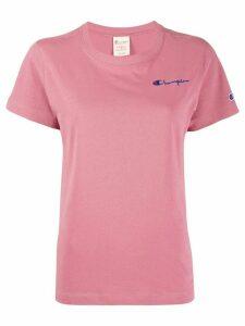 Champion logo detail T-shirt - Pink