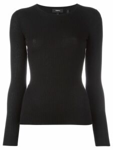 Theory Mirzi ribbed knit jumper - Black