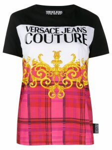 Versace Jeans Couture logo print T-shirt - Black