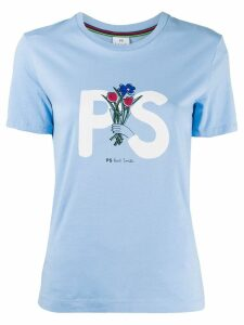 PS Paul Smith printed T-shirt - Blue
