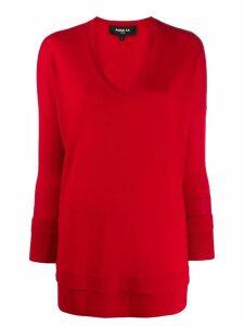 Paule Ka layered-effect V-neck pullover