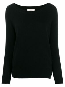 Dorothee Schumacher long sleeve fine knit top - Black