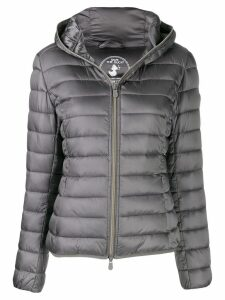 Save The Duck hooded padded jacket - Grey