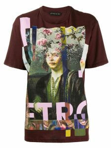 Etro printed T-shirt - Red