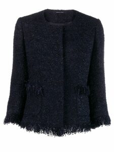 Tagliatore Milly tweed jacket - Blue