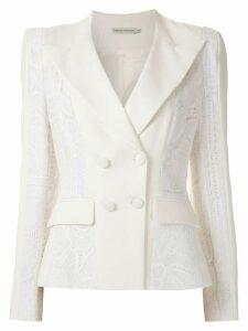 Martha Medeiros Genéve blazer - White