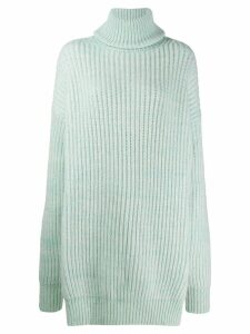 Maison Margiela open-panel jumper - Green